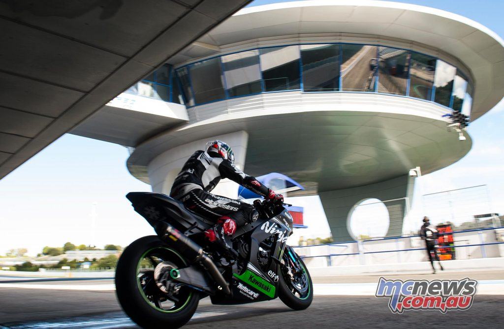 WSBK Test Jerez Day Jonathan Rea