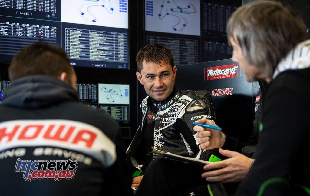 WSBK Test Jerez Day Leon Haslam