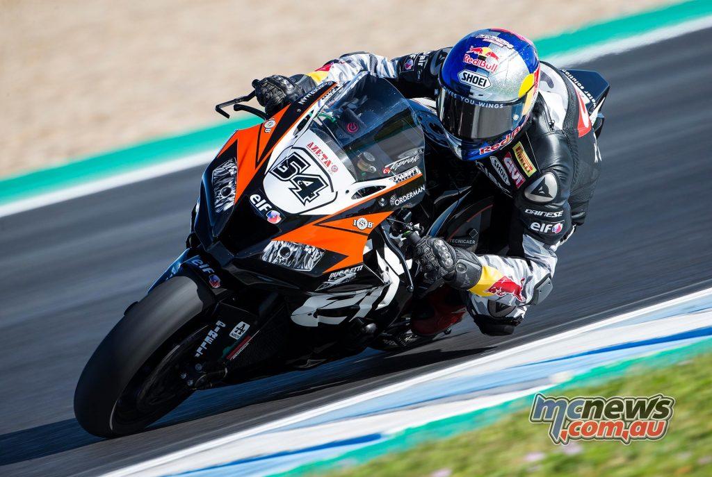 WSBK Test Jerez Day Razgatlioglu