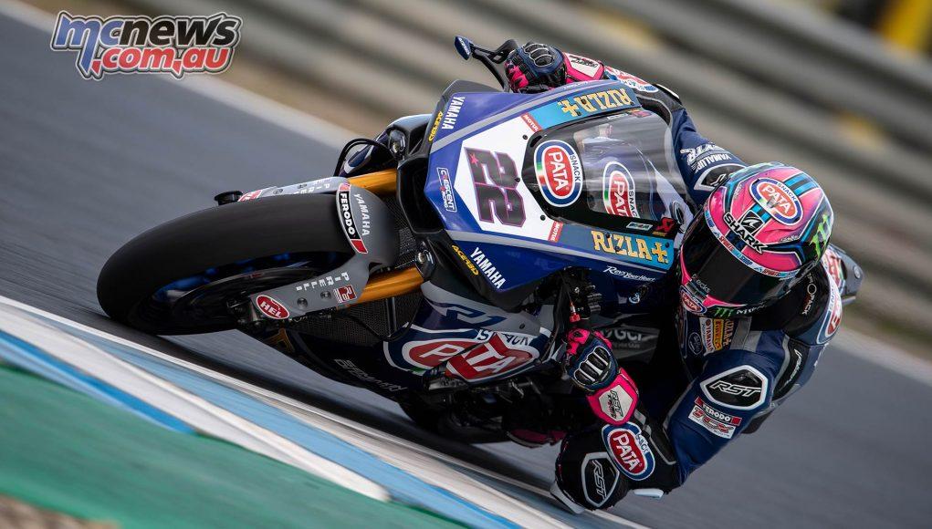 WSBK Test Jerez Alex Lowes