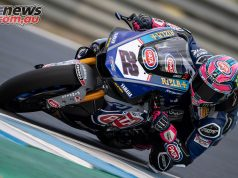 WSBK Test Jerez Alex Lowes