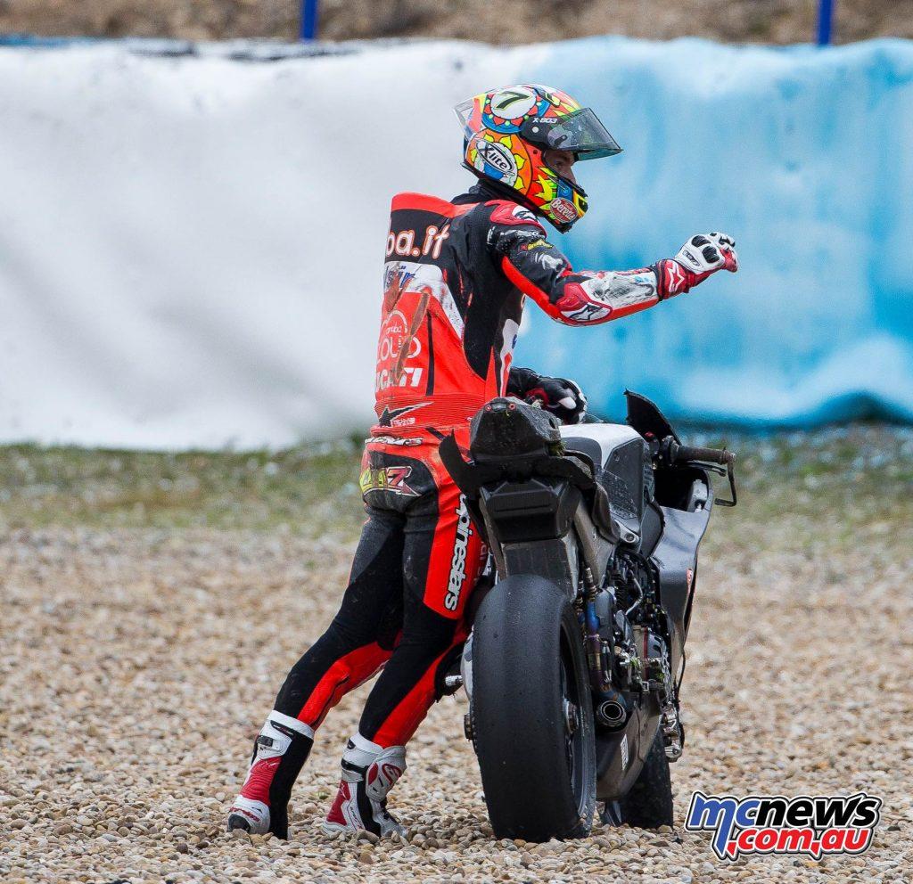 WSBK Test Jerez Chaz Davies