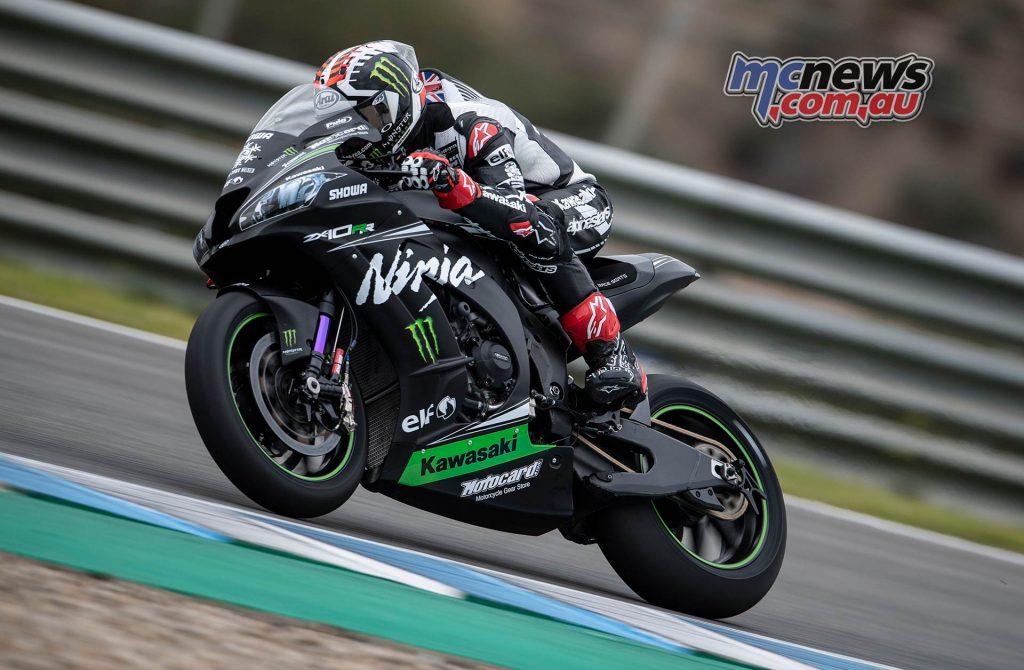 WSBK Test Jerez Jonathan Rea