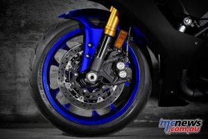 Yamaha YZF R Team Yamaha Blue