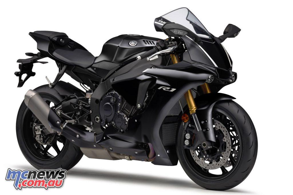 Yamaha YZF R Tech Black