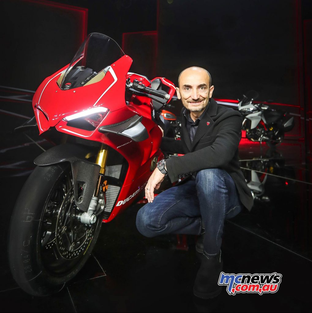 Claudio Domenicali CEO Ducati UC High