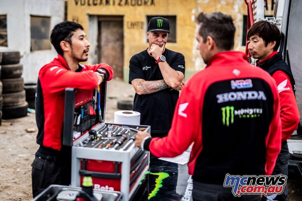 Dakar Monster Energy Honda mch