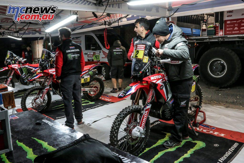 Dakar Monster Energy Honda rz