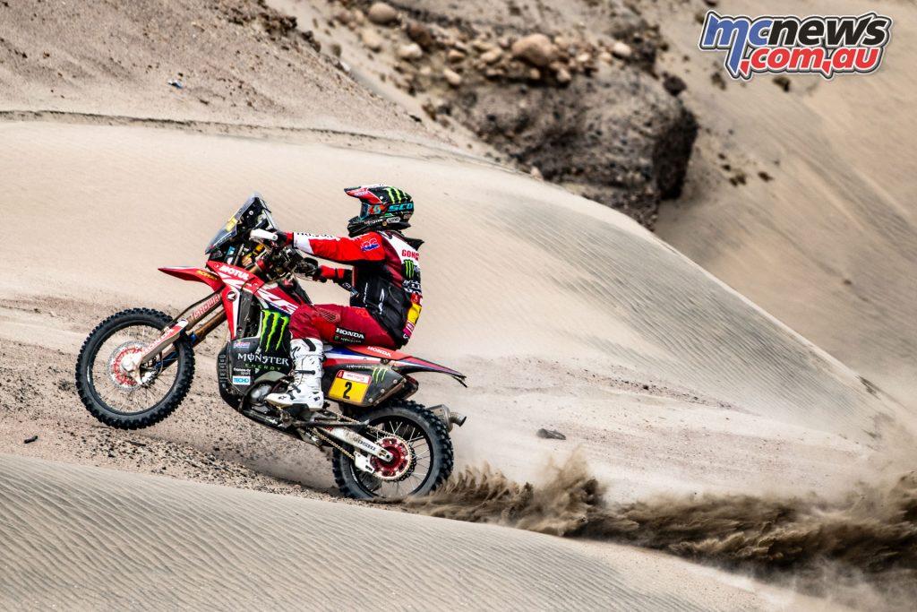 Dakar Monster Energy Honda Benavides Goncalves mch