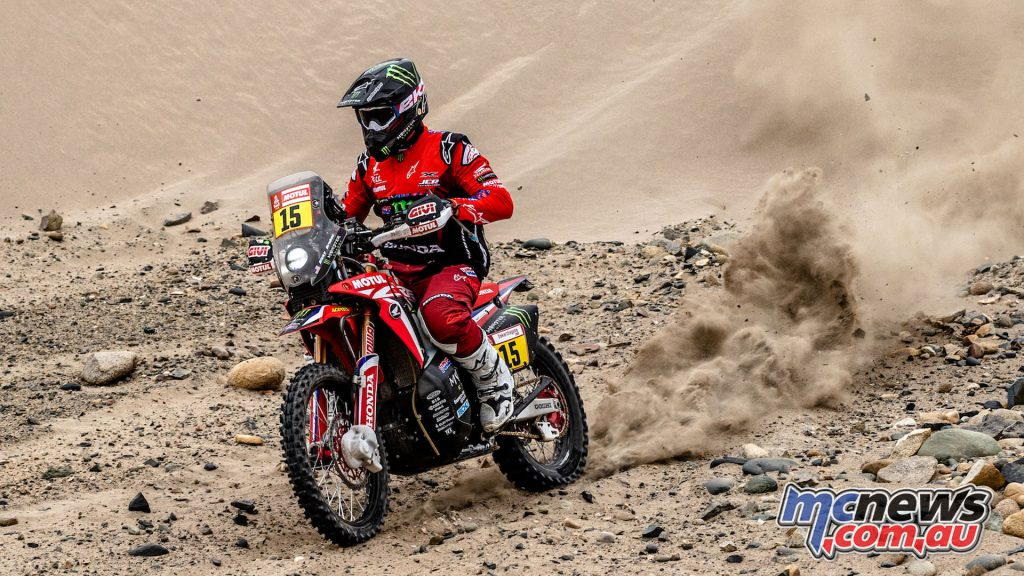 Dakar Monster Energy Honda Ricky Brabec mch