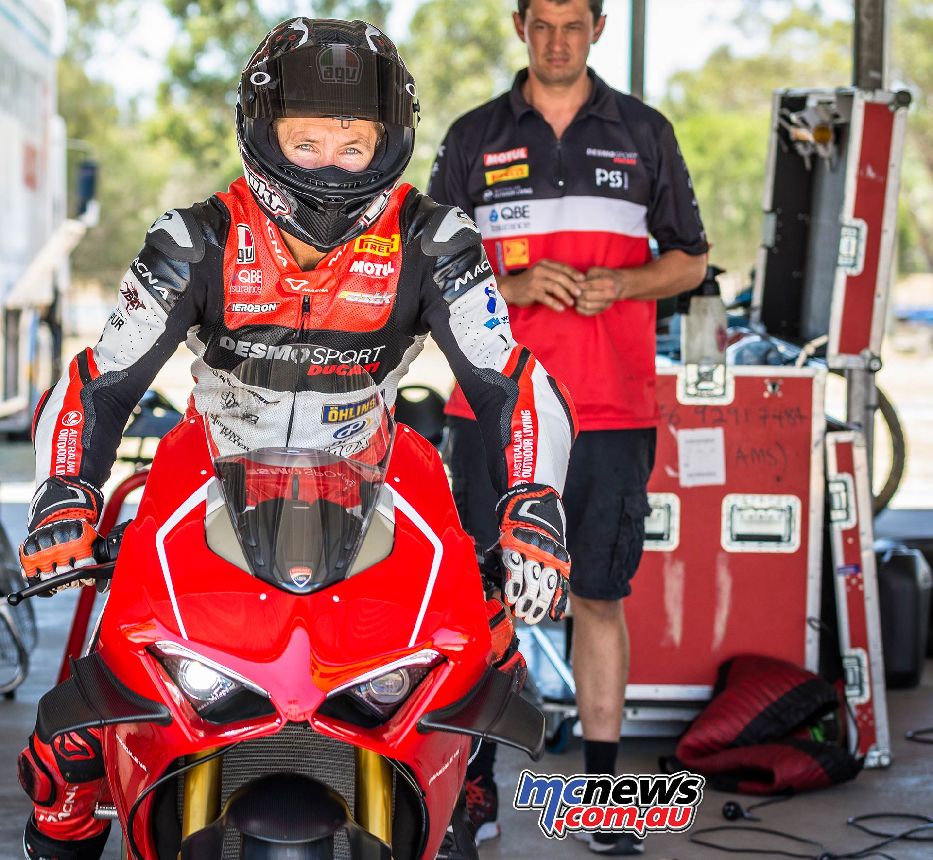 Ducati Panigale VR Troy Bayliss