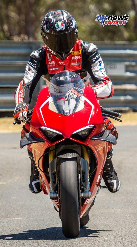 Ducati Panigale VR Troy Bayliss