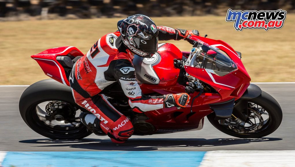 Ducati Panigale VR Troy Bayliss Action