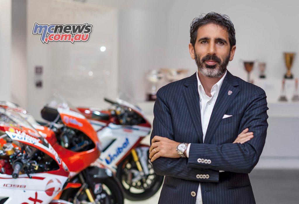 Francesco Milicia Ducati Director Global Sales