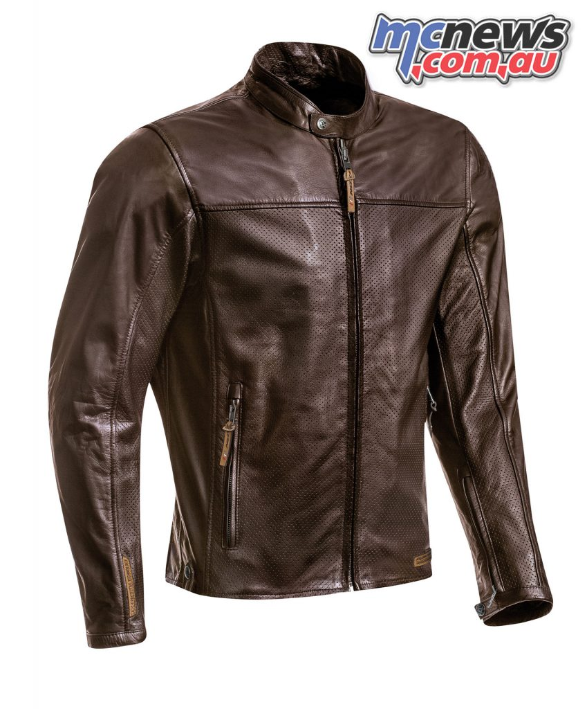 Ixon Crank Jacket air marron face