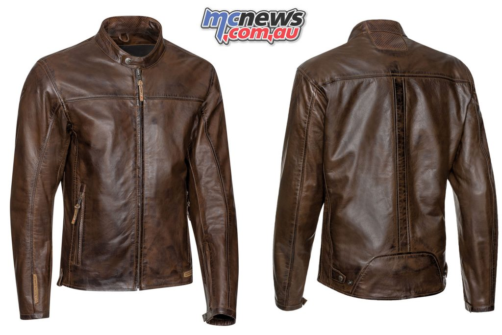 Ixon Crank Jacket marron face