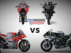 Kawasaki HR VS MotoGP Bike
