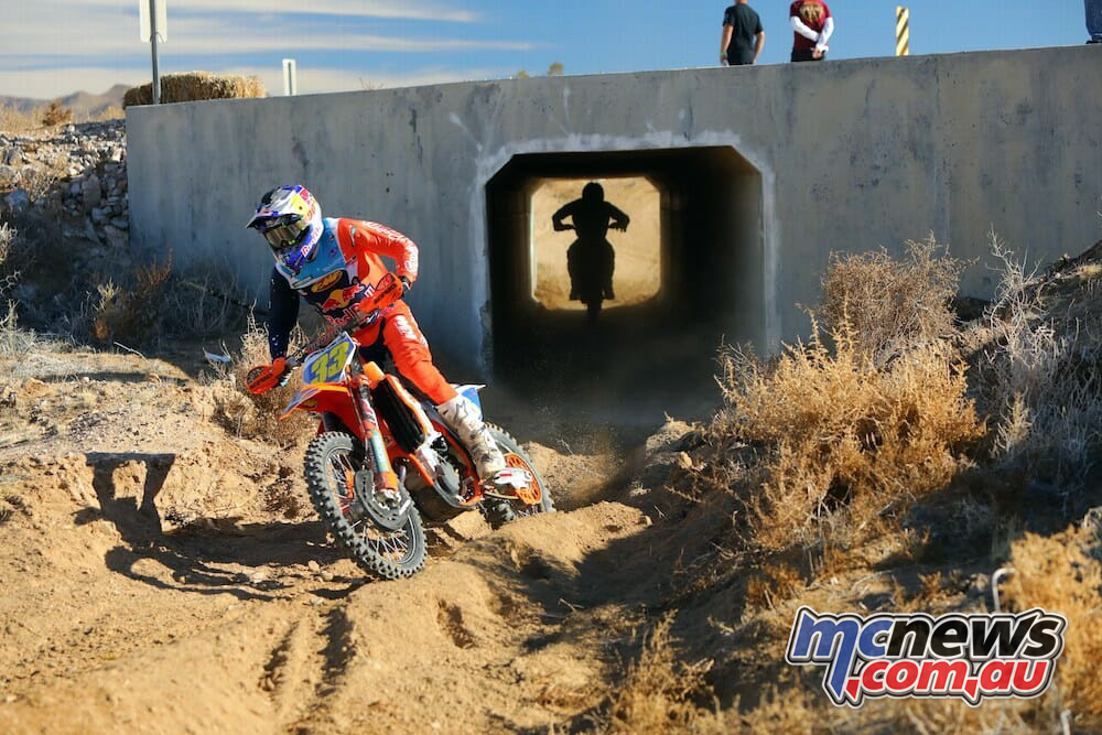 Taylor Robert won the opening round of the WORCS Series IMGHarlenFoley