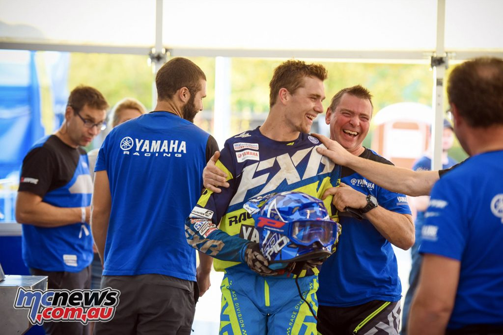 Wil Ruprecht has signed with the Johansson MPE Yamaha Enduro Team for the World Enduro Championship