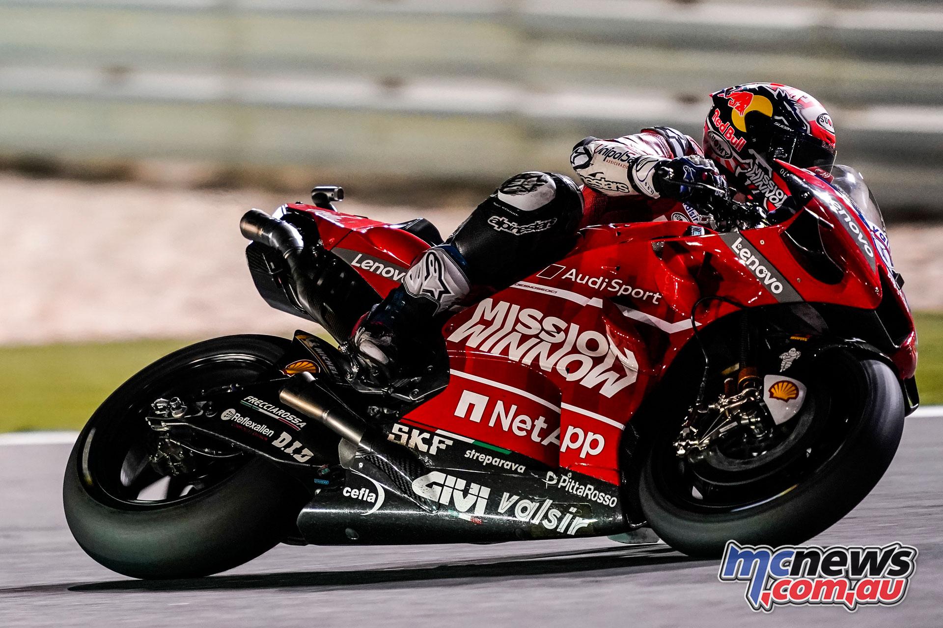 MotoGP Test Qatar Day Andrea Dovizioso