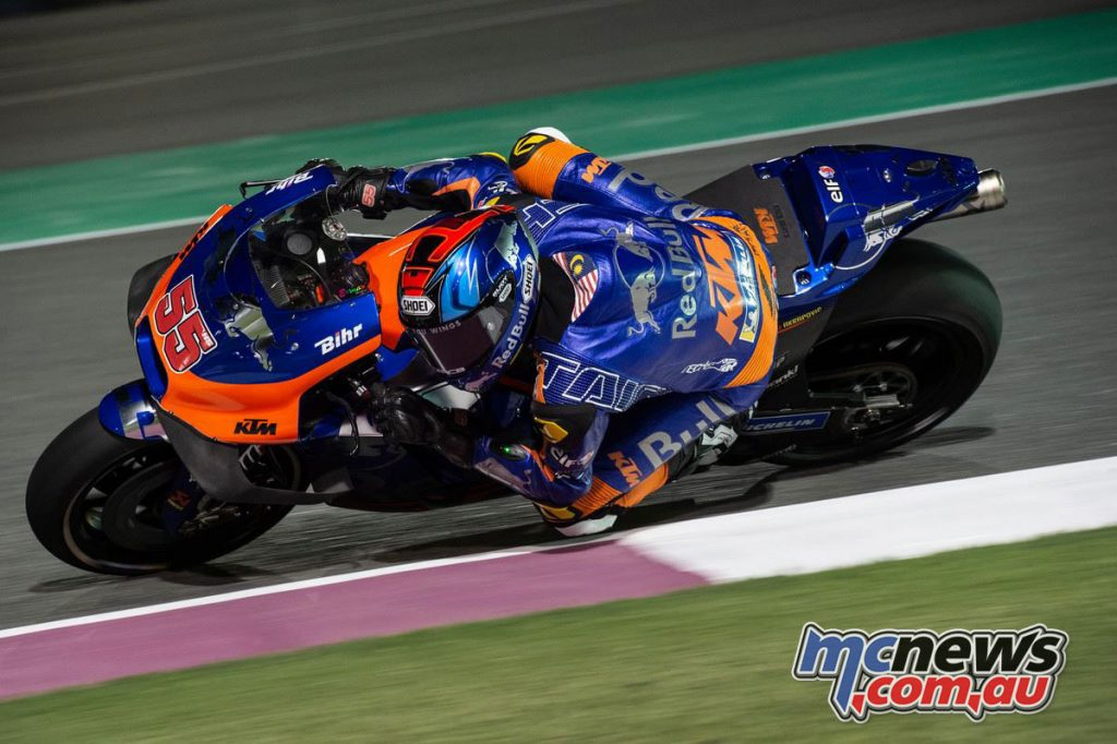 MotoGP Test Qatar Day Hazifh Syahrin