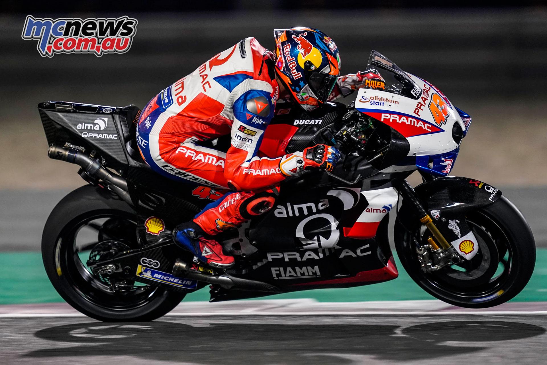 MotoGP Test Qatar Day Jack Miller AX