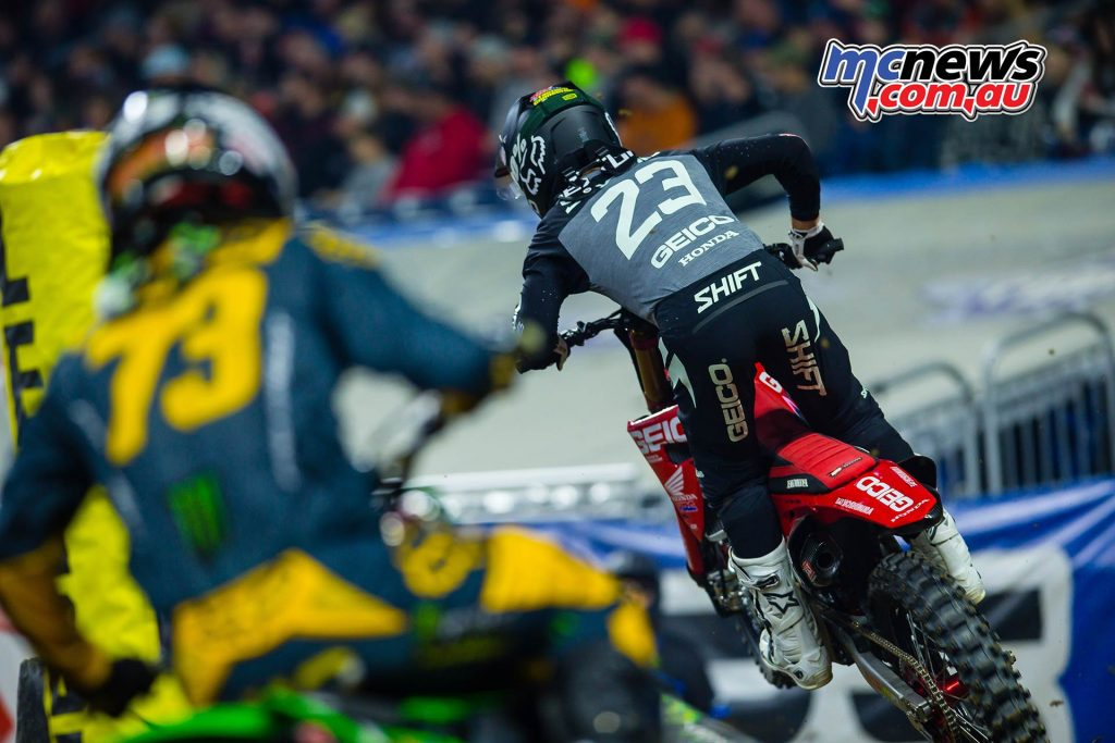 AMA SX Rnd FordField Chase Sexton Multiple JK SX Detroit