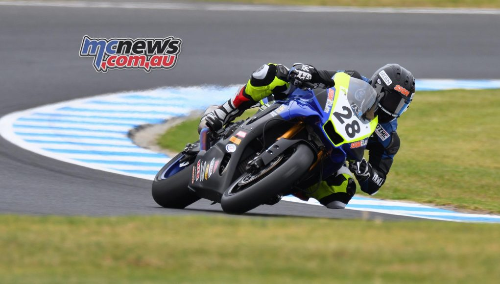 ASBK Round Phillip Island SBK Friday Rob Mott Aiden WAGNER