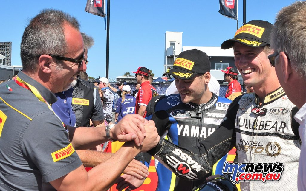 ASBK Round Phillip Island SBK Sunday Rob Mott Michael Jones Aiden WagnerParc