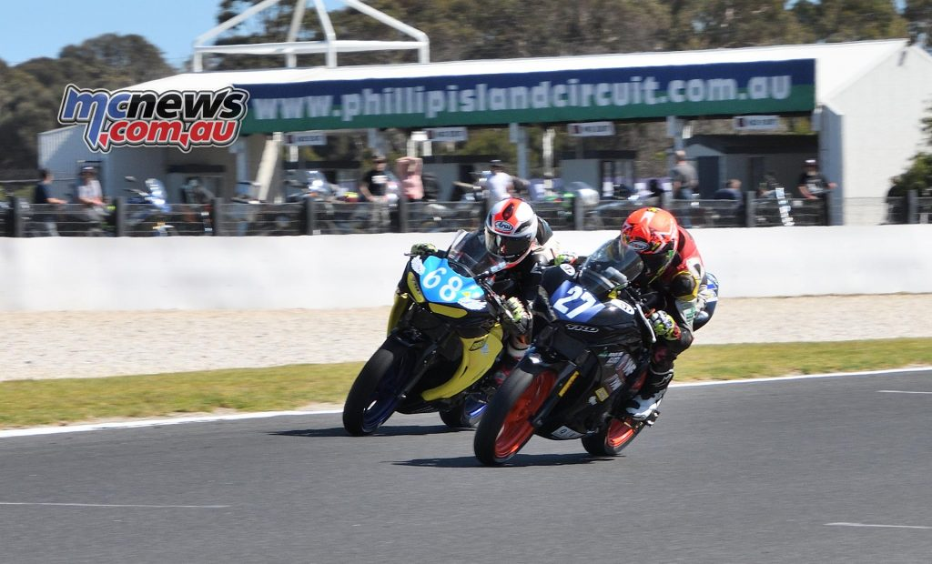 ASBK Round Phillip Island SS Saturday Rob Mott Luke Power Max Stauffer