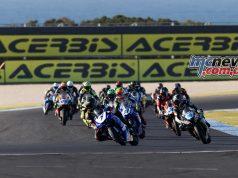 ASBK Round TBG WSBKPI PI SS Race Toparis Leads TBG