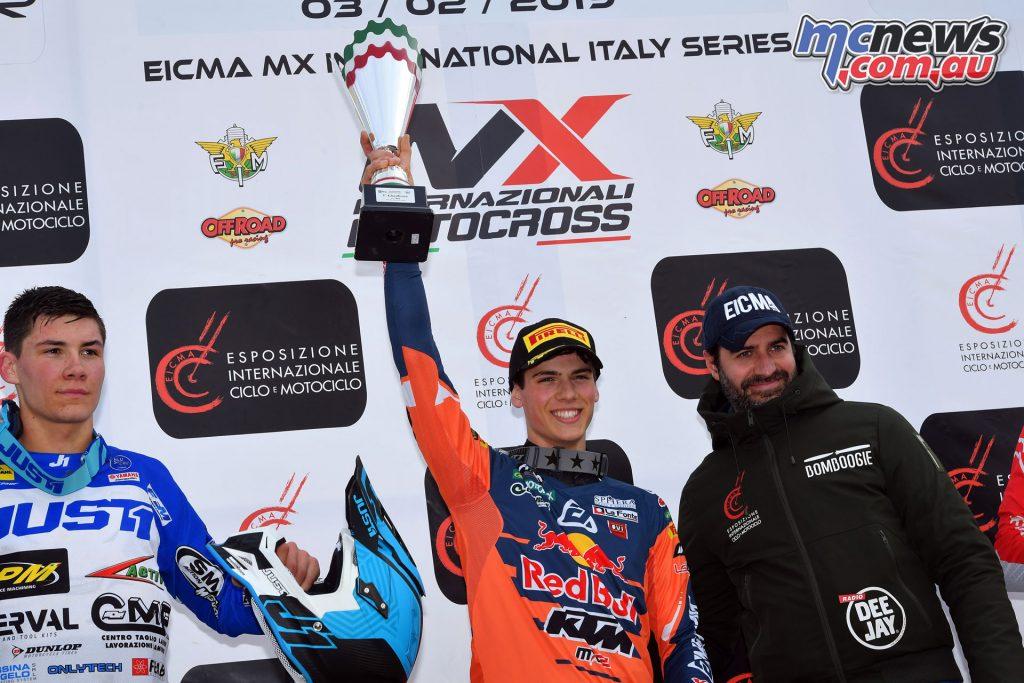 Italian Championship Ottobiano Jorge Prado