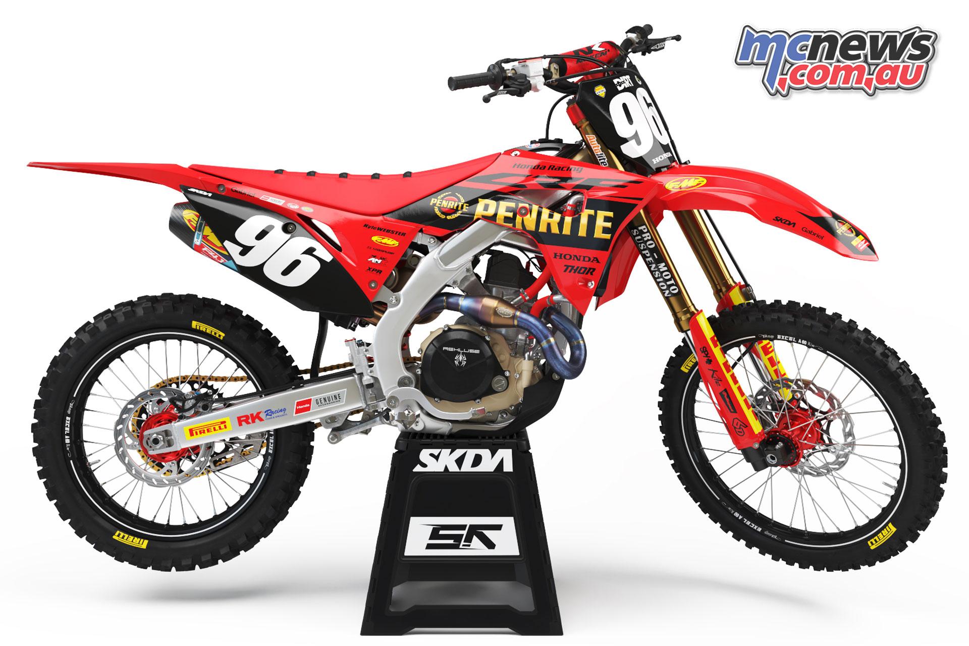 Kyle Webster Honda CRFR