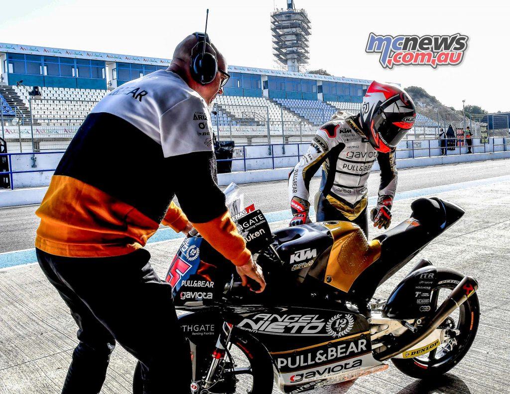 Moto Test Jerez Arenas