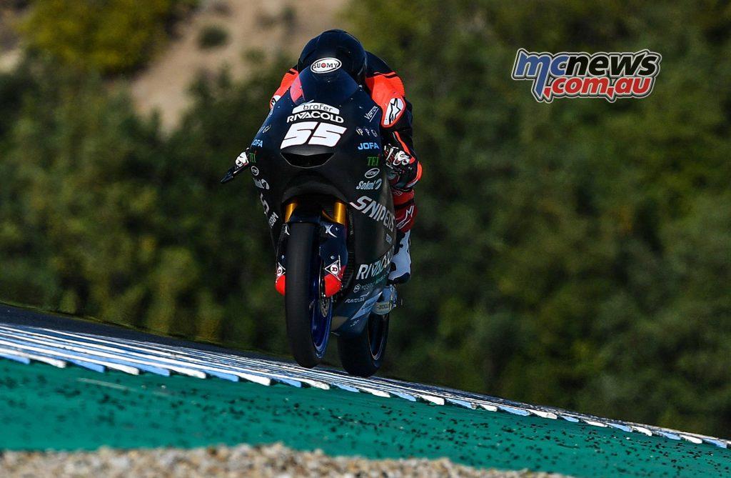 Moto Test Jerez Fenati