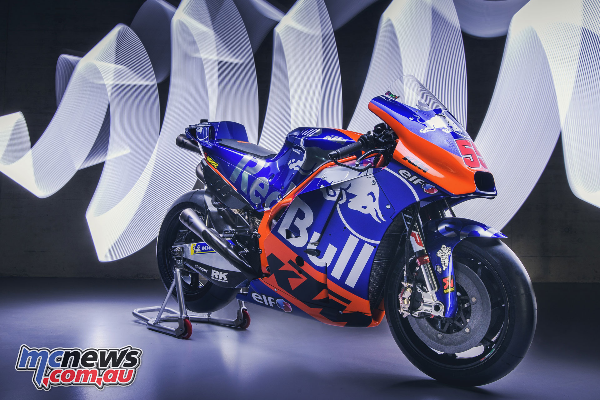MotoGP KTM Launch Hafizh Syahrin