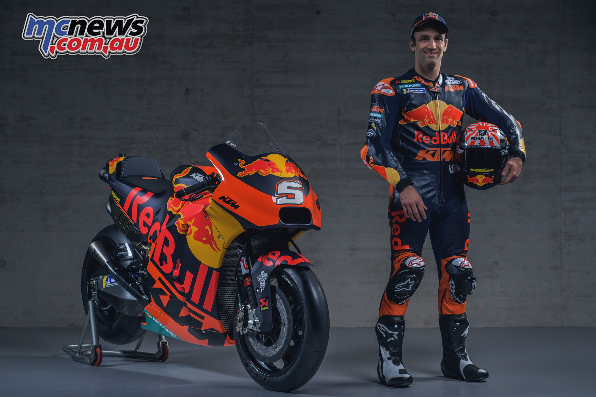 MotoGP KTM Launch Johann Zarco