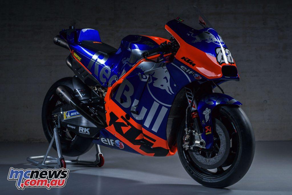 MotoGP KTM Launch Miguel Oliveira