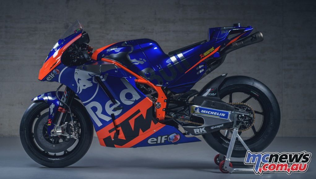 MotoGP KTM Launch Miguel Oliveira LHS