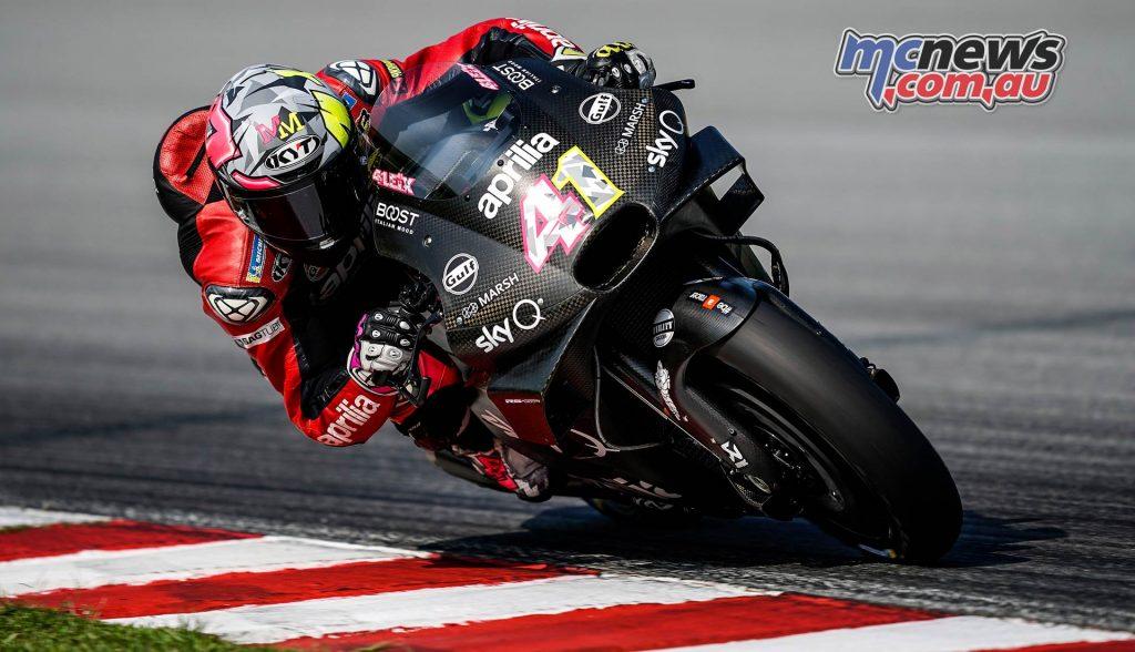 MotoGP Sepang Test Aleix Espargaro