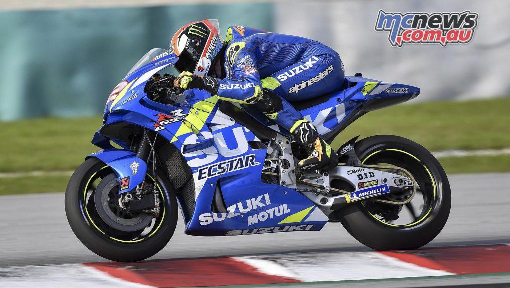 MotoGP Sepang Test Day Alex Rins
