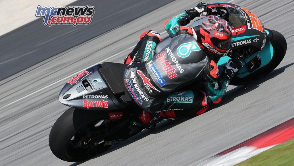 MotoGP Sepang Test Day Fabio Quartararo
