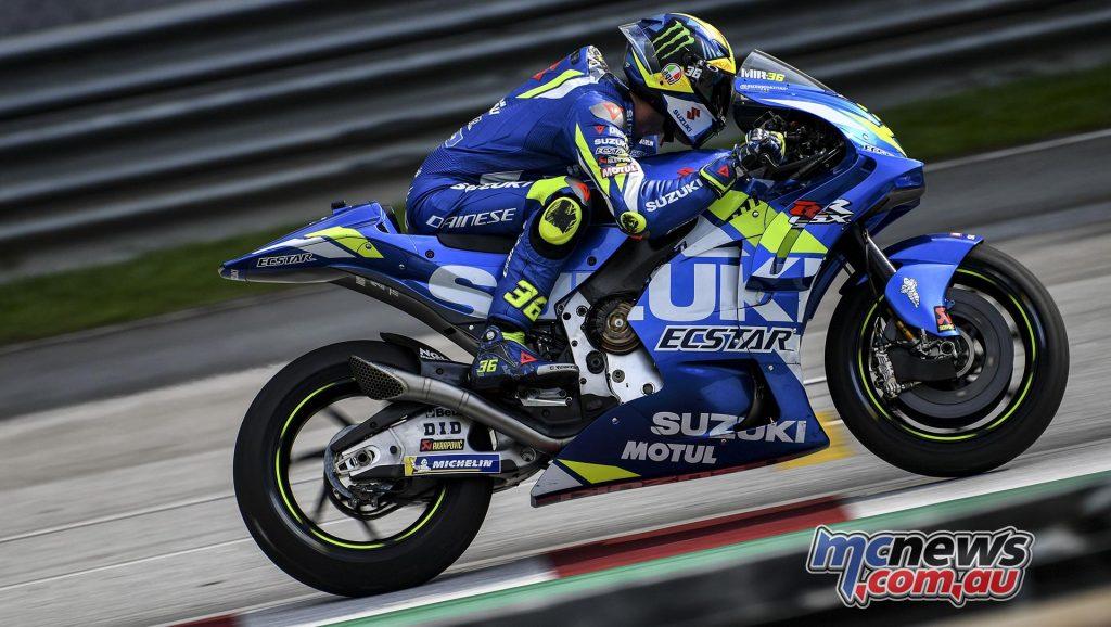 MotoGP Sepang Test Day Joan Mir