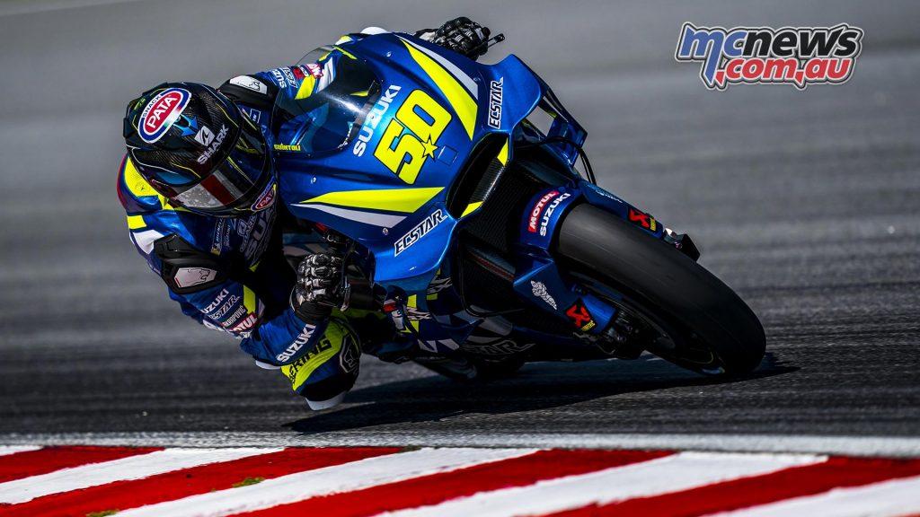 MotoGP Sepang Test Day Sylvain Guintoli