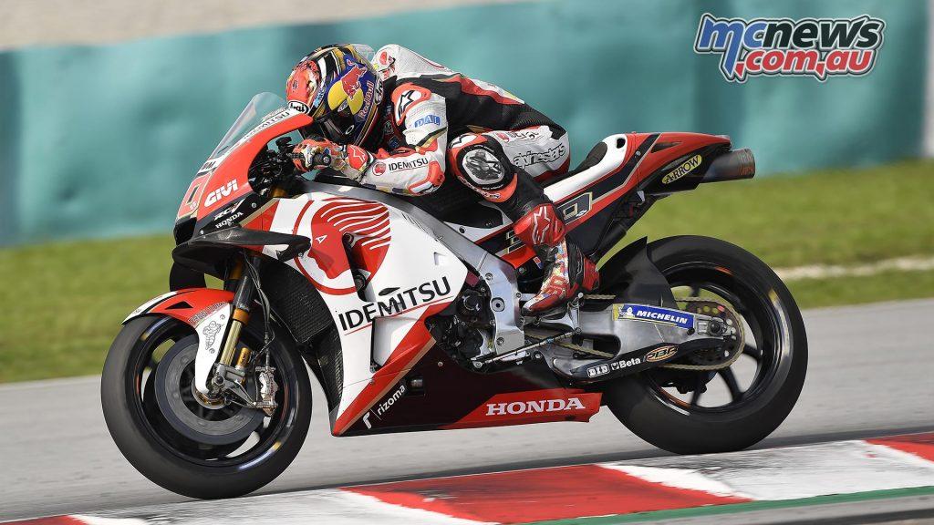 MotoGP Sepang Test Day Takaaki Nakagami