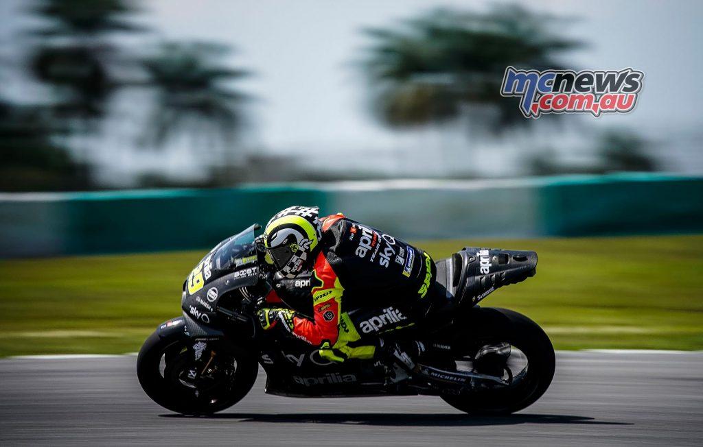 MotoGP Sepang Test Day Andrea Iannone