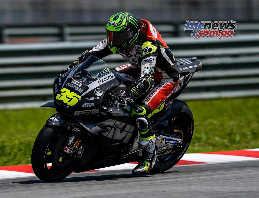 MotoGP Sepang Test Day Cal Crutchlow