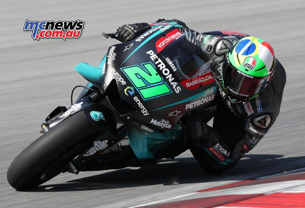 MotoGP Sepang Test Day Morbidelli