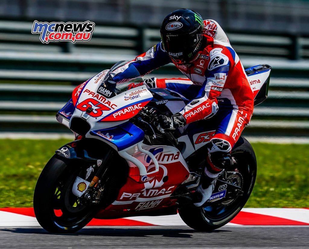 MotoGP Sepang Test Day Pecco Bagnaia