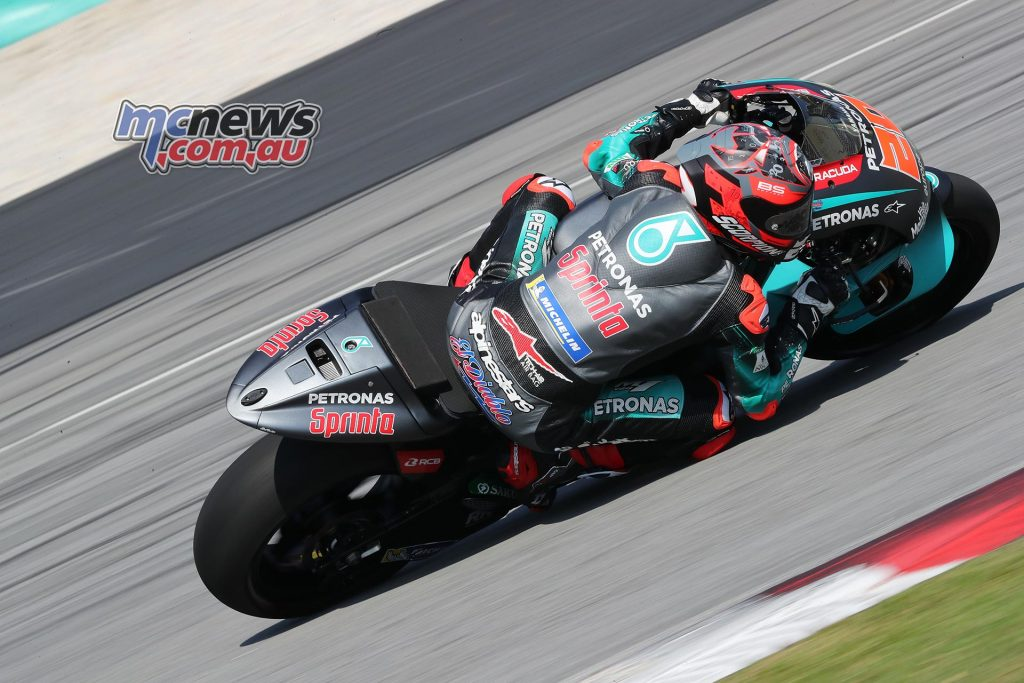 MotoGP Sepang Test Day Quartararo
